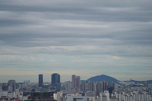 Kores, Sky, Republic Of Korea, Korea, Landscape, Cloud