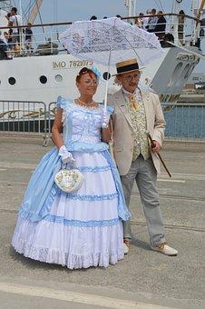 Ride, Costume, Character, Belle Epoque, 1900, Festivity