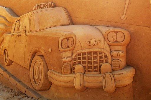 Sand Sculpture, Sand, Art, Oostende, Artwork, Festival