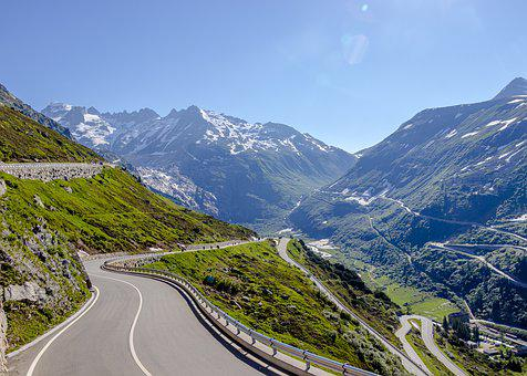 Way, Switzerland, Mountains, Snow, Alpine, Mountain