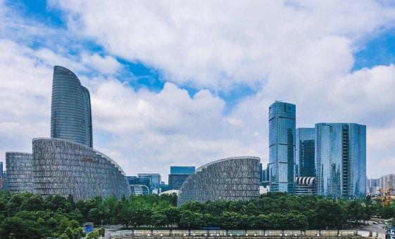 Chengdu, Tianfu Financial Center, Building, Grand