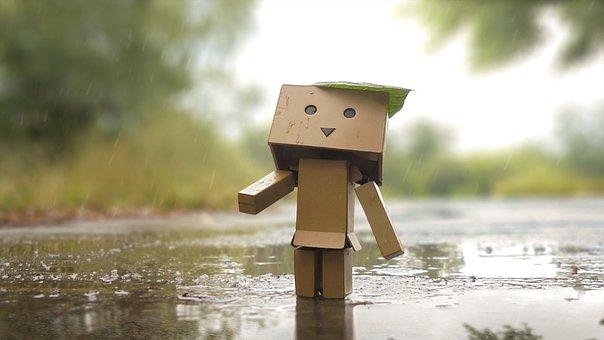 Danby, Danboard, Statuette, Rain, Toy, Drops, Macro
