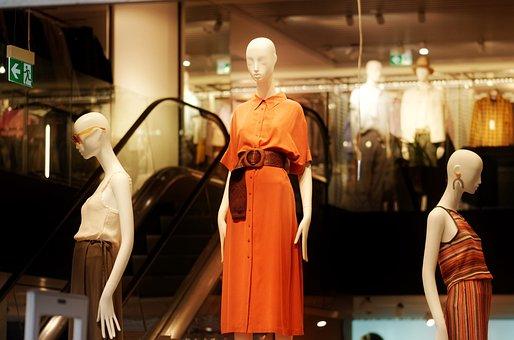 Dummies, Women, Fashion, Dress, Figurine, Beauty