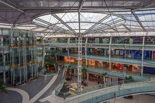 Building, Mall, Architecture, Business, Glass, Modern