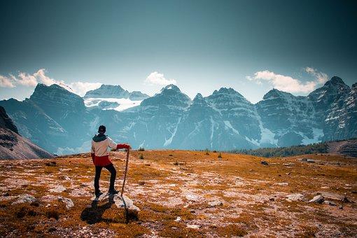 Banff, Alberta, Canada, Landscape, Nature, Mountain