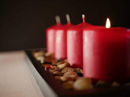 Mood, Candlelight, Candles, Flame, Candle, Heat
