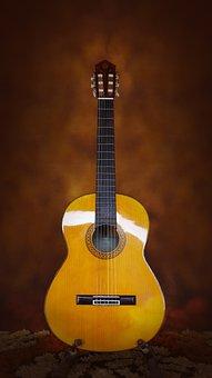 Guitar, Yamaha, Classic, Acoustic, Flamenco, Spruce