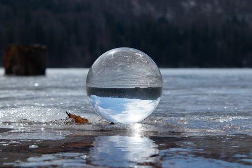 Crystal Ball, Glass Ball, Ball, Photo Ball, Reflection