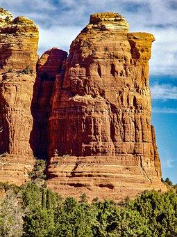 Coffeepot Rock, Sedona, Arizona, Landscape, Desert
