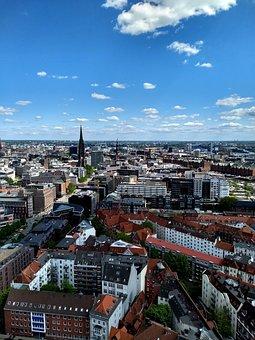 Hamburg, Michel, City, Metropolis