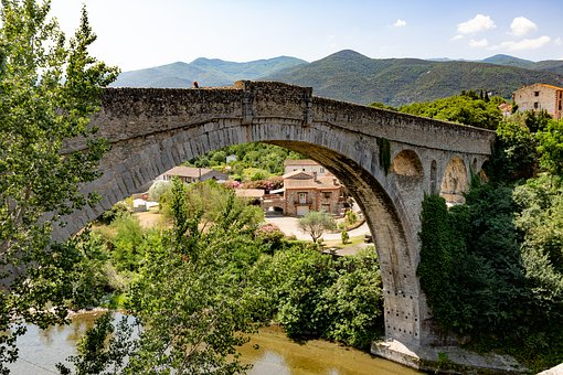 Bridge, Architecture, Landmark, Historical, Tourism