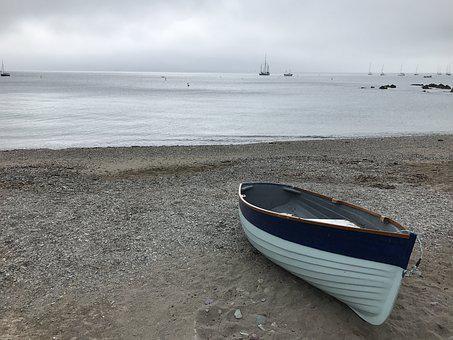 Cornwall, Boat, England, Boats, Coast, Fishing, Holiday