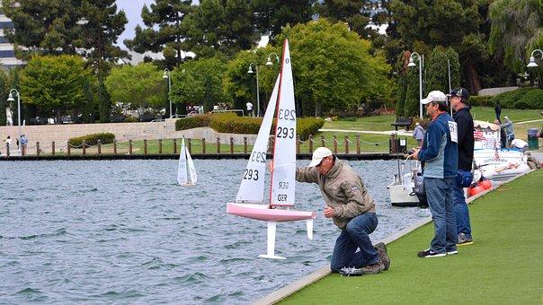 Foster City, Sailing, Model Yacht, Regatta, Sail