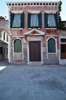 Venice, Italy, Architecture, Old, History, House