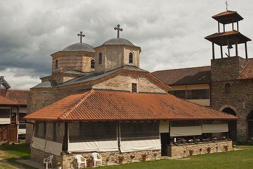 Church, Demir Hisar, Macedonia, Monastery, Orthodox