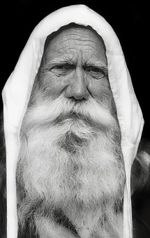 Man, Beard, White, Person, Portrait, Face, Middle Ages