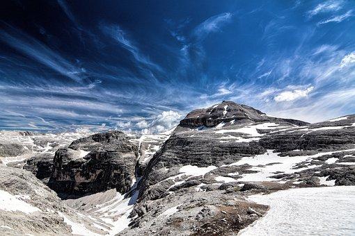 Piz Boe, Dolomites, Viewpoint, View, Good View