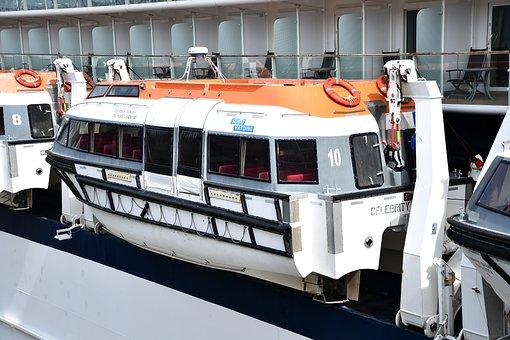 Lifeboat, Raft Boat, Small Boat