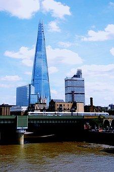 The Shard, Shard Of Glass, London, Tower, Skyscraper