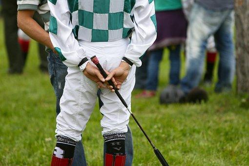 Jockey, Racing, Sport, Horse Riding, Hands, Whip