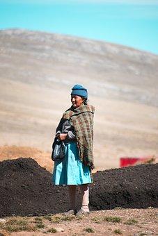 Peruvian Woman, Agriculture, Elderly Woman, Peru, Tarma