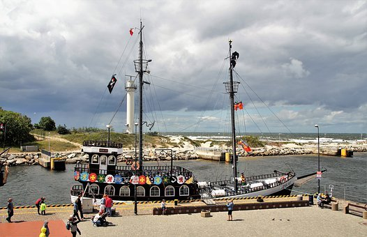 Kolobřeh, The Baltic Sea, Port, Tourism, Maritime, Ship