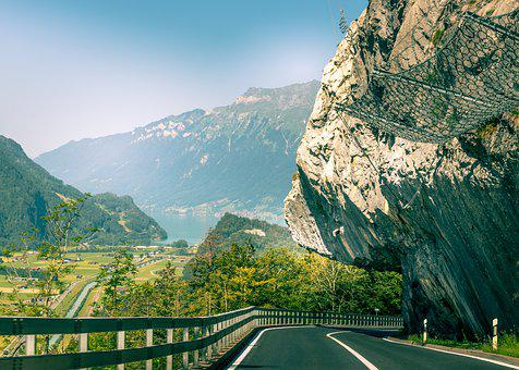 Switzerland, Way, Mountains, Alpine, Mountain, Travel