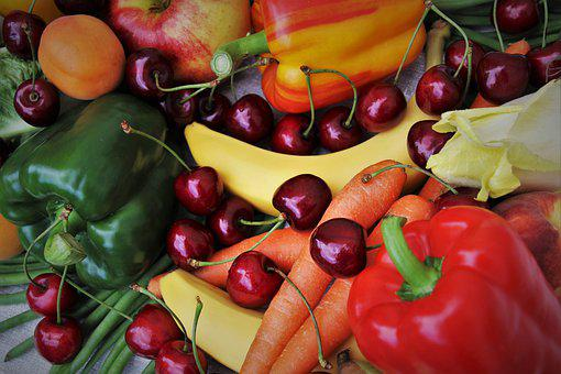 Cherries, Food, Stone, Delicious, Vegetables, Fit
