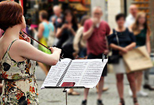 Street Music, Artists, Violin, Street Musicians, Music