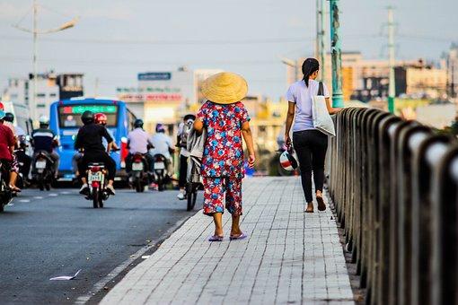 Walk, Walking, People, Person, Woman, Girl, Journey