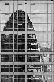 Office, Office Building, Glazing, Work, Skyscraper