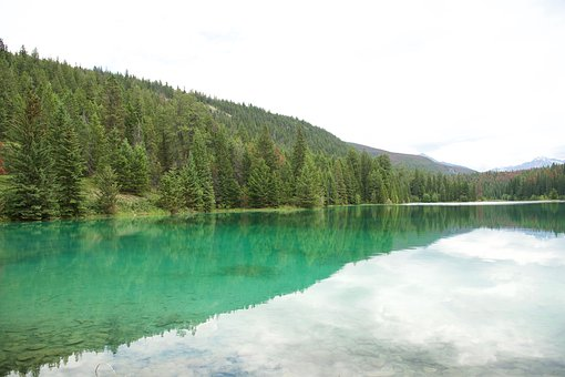Five Lakes, Canadian Rockies, Jasper, Alberta, Canada