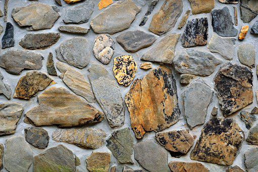 Stone Wall, Backdrop, Wall, Stone, Texture, Concrete