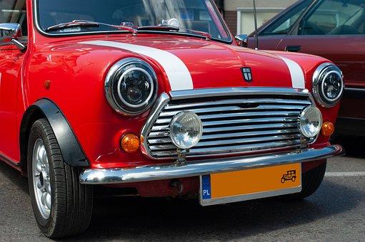 Car, Mini, Red, Icon, Auto, Vehicle, Automotive, Luxury