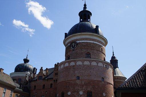 Castle, Gripsholm Castle, Gripsholm, Sweden, Mariefred