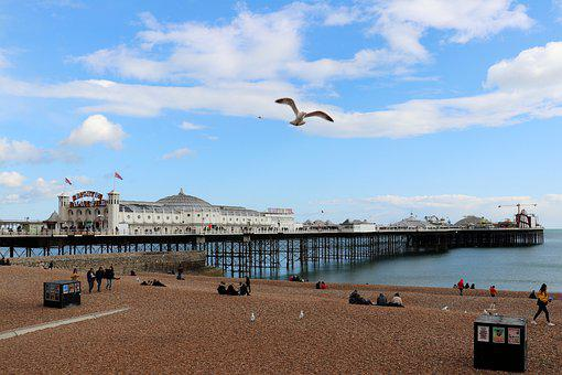 Brighton, East Sussex, Pier, Sea, Coast, Landscape