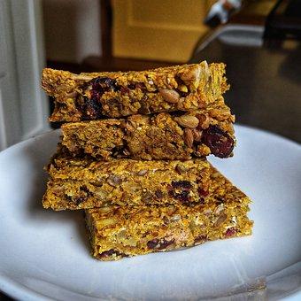 Turmeric, Granola, Granola Bars, Breakfast, Nutrition