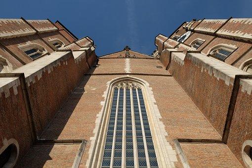 Church, Facade, Historically, Landmark, Architecture