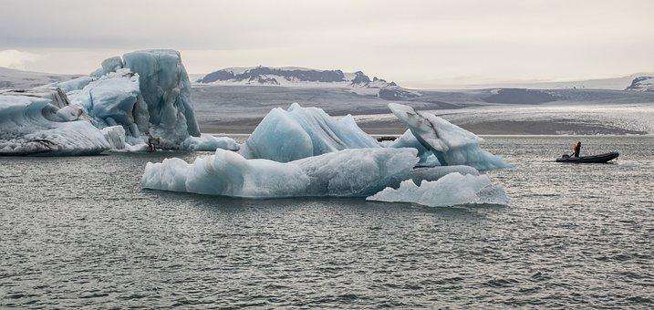 Iceland, Jokulsarlon, Glacial Lagoon, Icebergs
