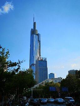 Nanjing, Purple Peak Tower, Tall Buildings