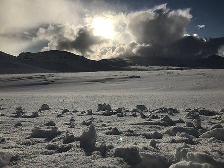 Snow, Mountains, Winter, Landscape, Wilderness, Nature