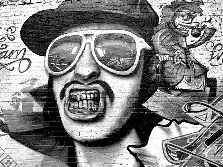 Graffiti, Wall, Painting, Art, Color, Painter