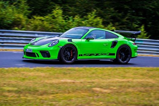 Porsche, Gt3, Porsche Gt3, Sports Car, Race Track, Fast