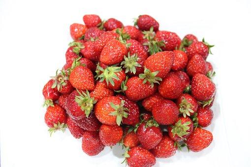 Strawberry, Spring, Fruit, Health, Sweet, Red, Fresh