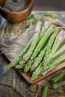 Asparagus, Vegetables, Food, Healthy, Green, Spring