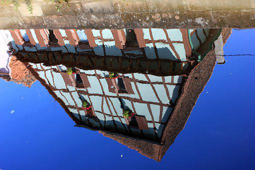 Reflection, Water, Alsace