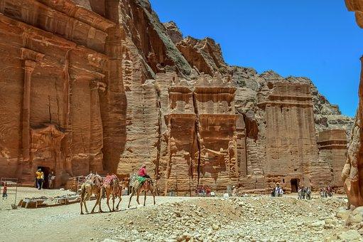 Petra, Jordan, Ancient, Monument, Architecture