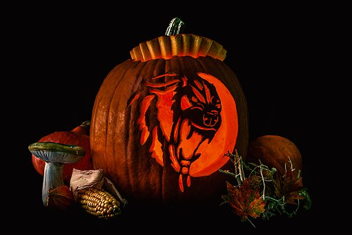 Pumpkin, Halloween, Autumn, October, Creepy, Harvest