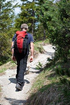 Hiking, Person, Hike, Human, Backpack, Away, Trail