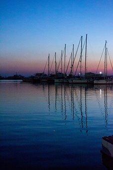 Montenegro, Bar, Sea, Beach, Adriatic, Tourism, Blue